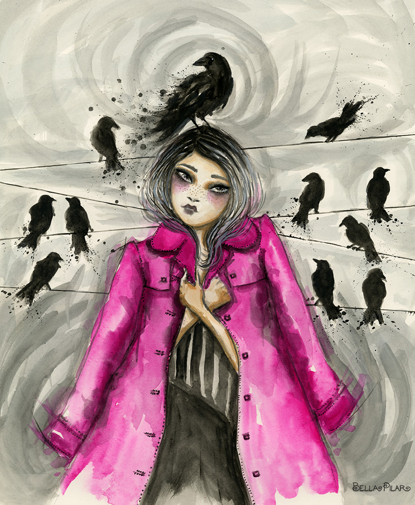 Carly and the crows