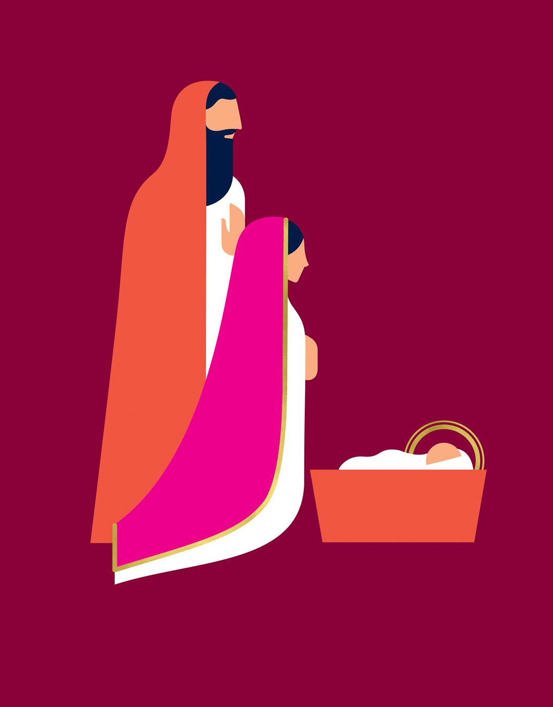 Guideposts - Nativity - Eleanor Grosch