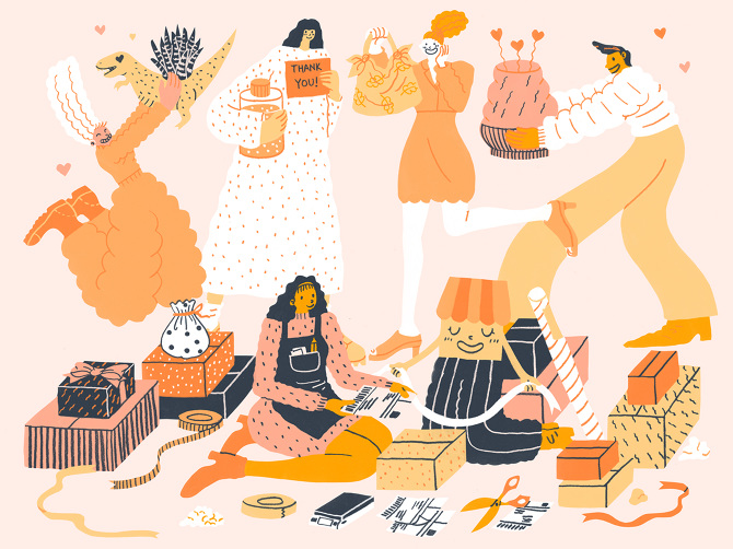 SOI 61 2018 - ARTIST: Hye Jin ChungTITLE: Love Your Shop [Series, 1 of 4]CLIENT: Etsy