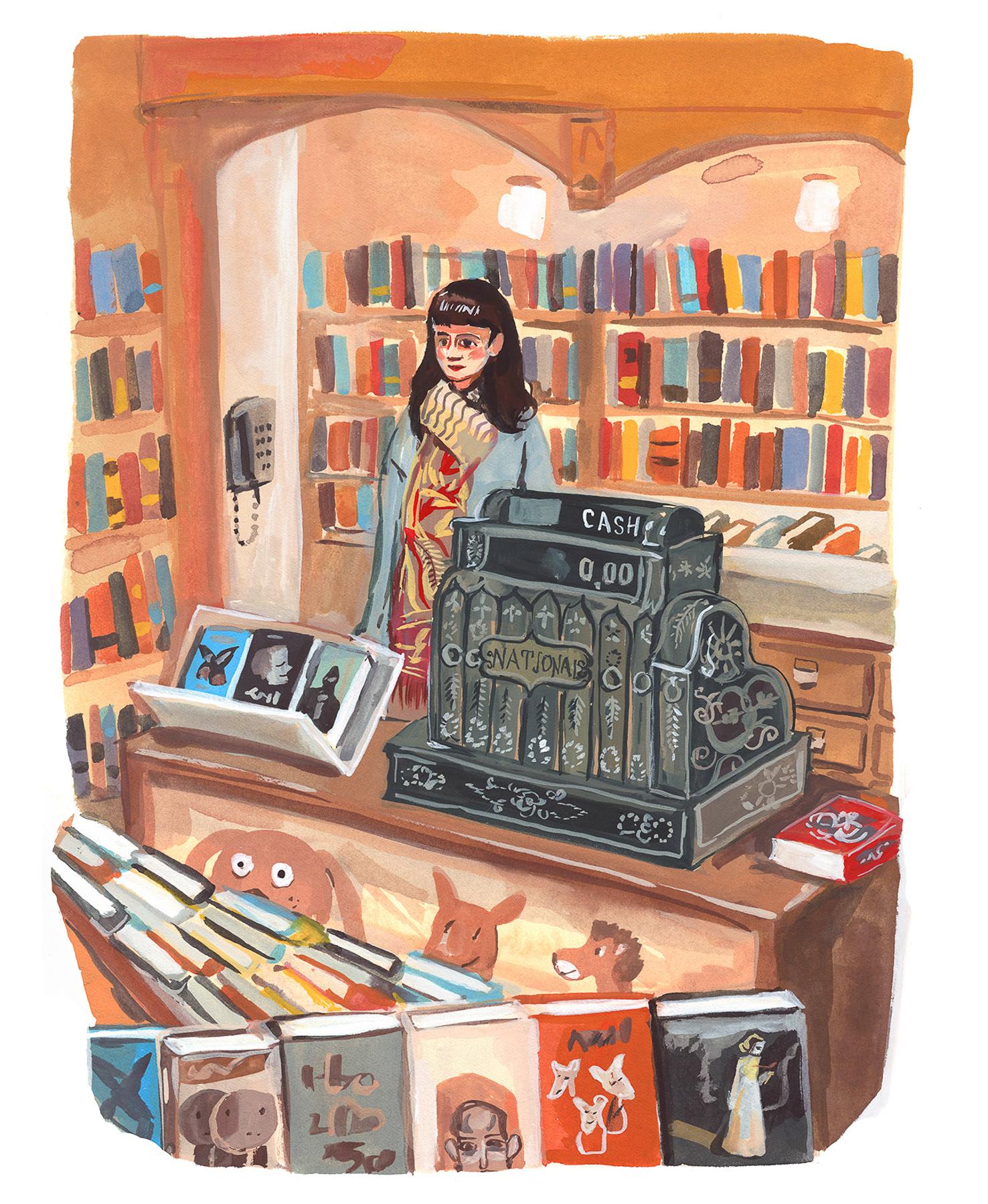 CA 60 2019, SOI 61 2018 - ARTIST: Jenny KroikTITLE: Corner Bookstore [2 of 7]