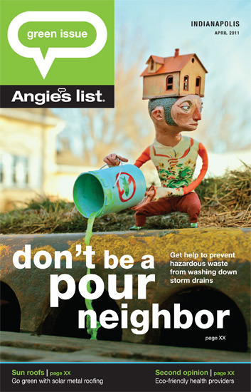 GDUA 2011 - ARTIST: Red Nose StudioTITLE: don't be a pour neighborCLIENT: Angie's List