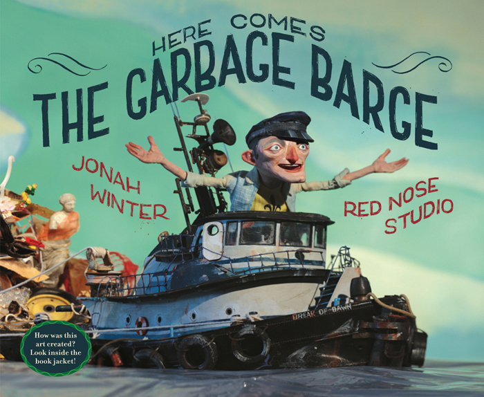 DENOP 2018, 3X3 Children's Book Show, distinguished merit 2010, SOI 52 2009 - ARTIST: Red Nose StudioTITLE: The Garbage Barge [1 of 4]CLIENT: Schwartz & Wade