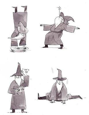IDI 2014 TOP 12 FROM CANADA - ARTIST: Graham RoumieuTITLE: Wizard Tricks