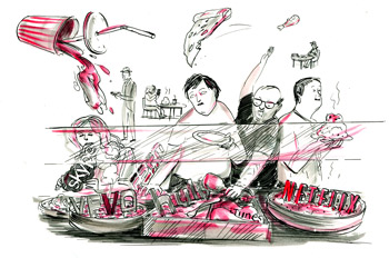SPD 2012 - ARTIST: Graham RoumieuTITLE: Data HogCLIENT: Bloomberg Businessweek