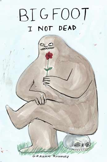 AI 28 2009, SOI 51 2009 - ARTIST: Graham RoumieuTITLE: Bigfoot: I Not Dead [Series, 1 of 3]CLIENT: Plume Books