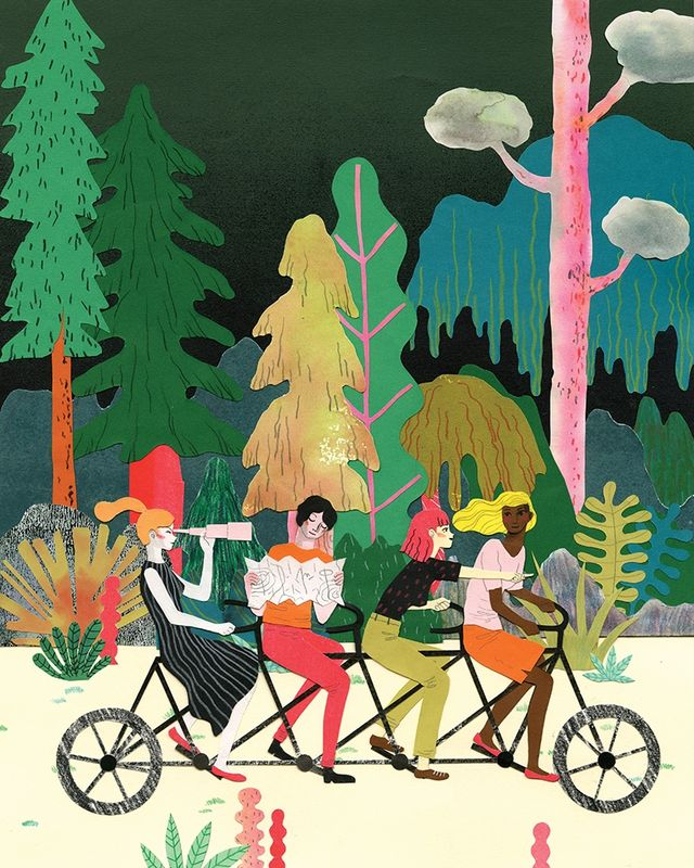 AI 34 2015 - ARTIST: Hye Jin ChungTITLE: How To Be A Good LeaderCLIENT: Oprah Magazine