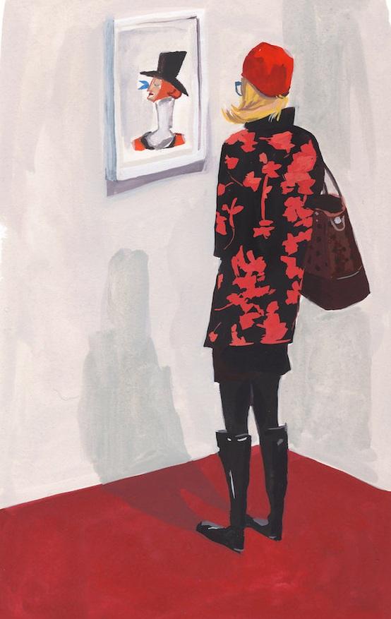 SOI 61 2018 - ARTIST: Jenny KroikTITLE: New Yorker [Series, 1 of 6]