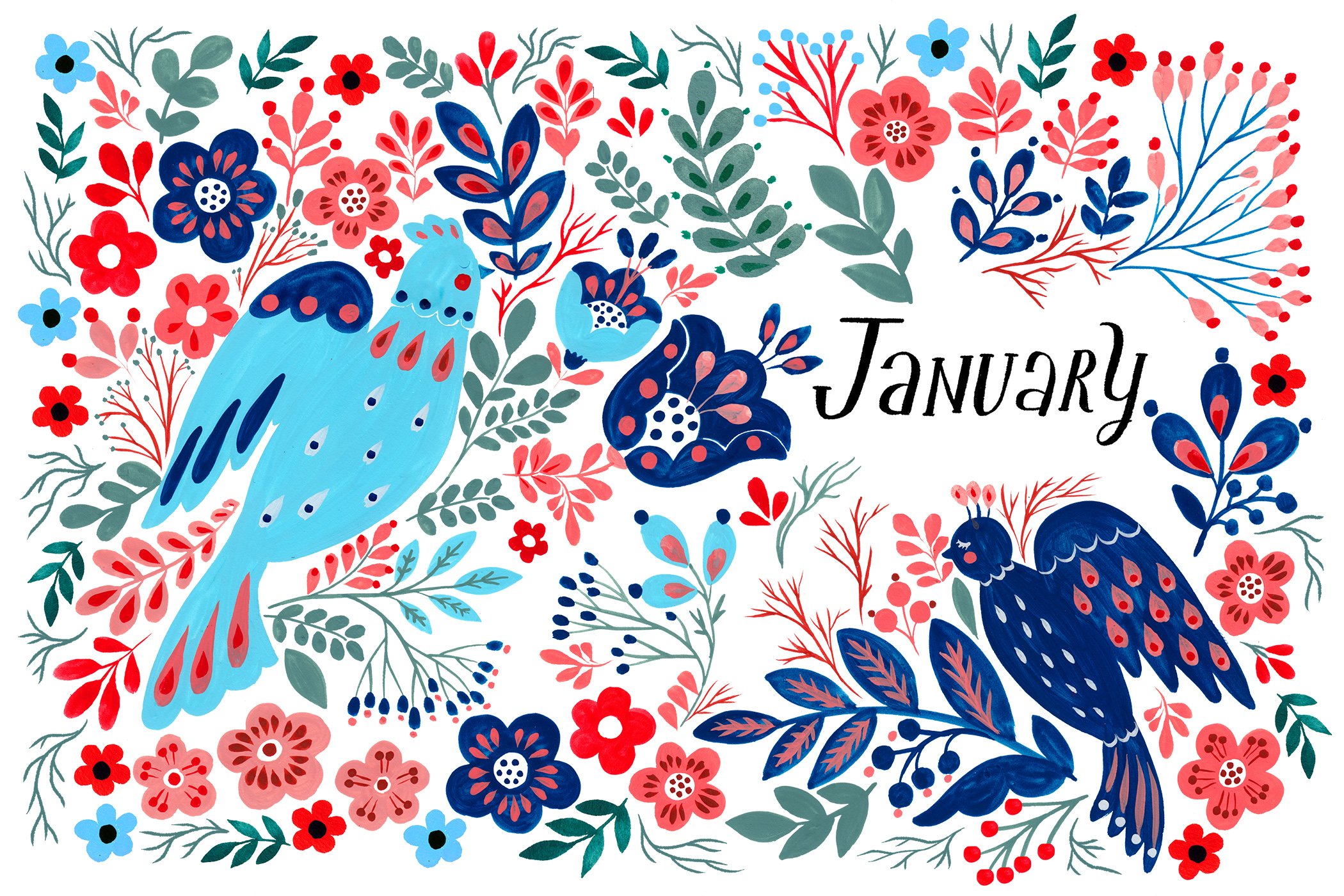 January - FLOW Diary
