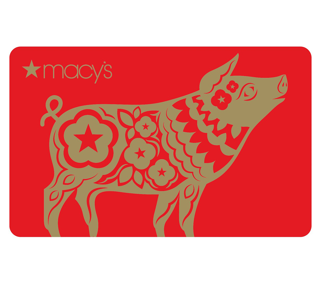 Year of the Pig Card - Macy's