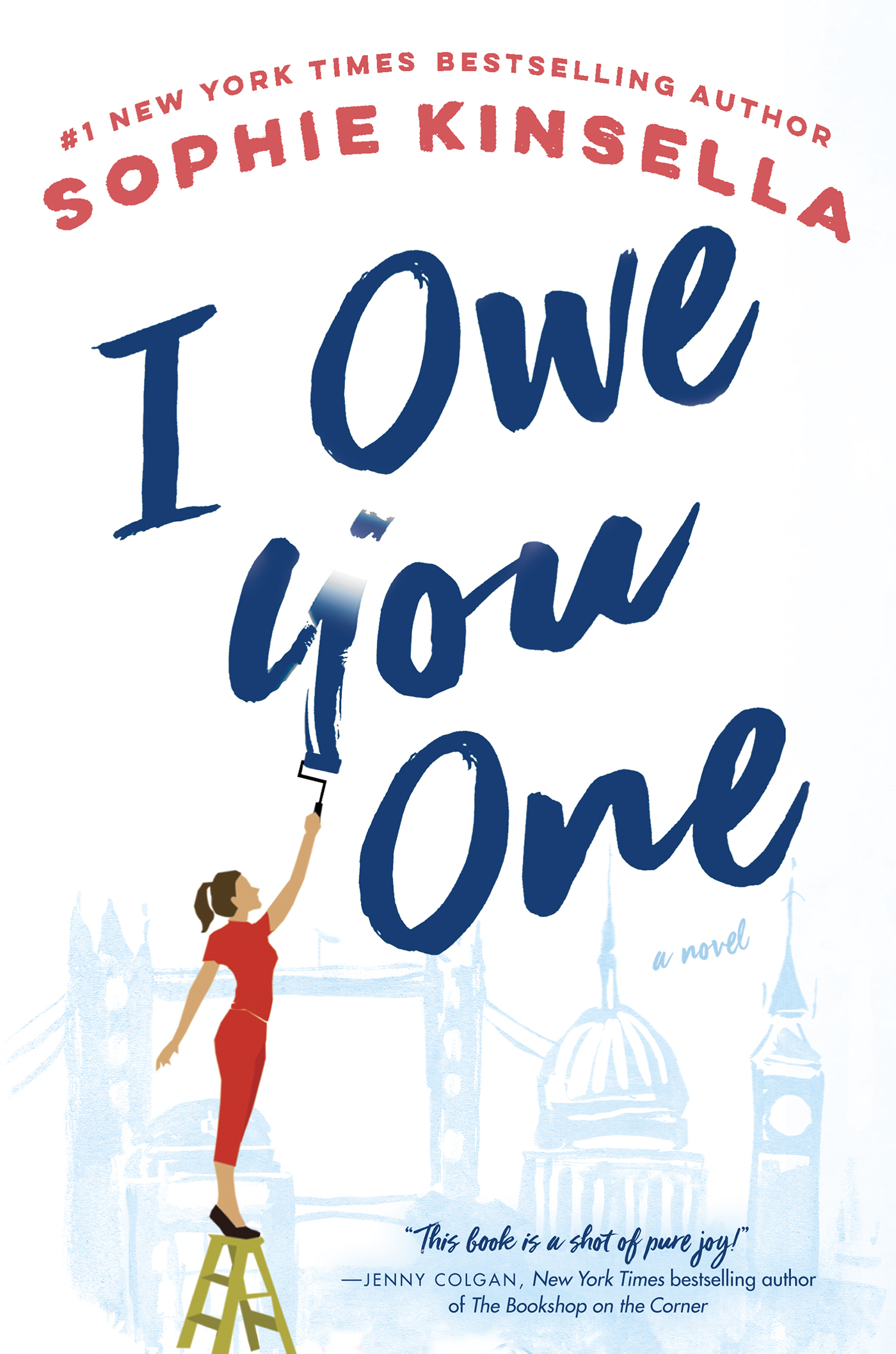 """I Owe You One"" Cover - Penguin Random House"