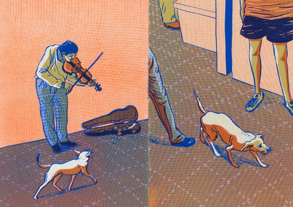 SOIW 50 2012 - ARTIST: Hye Jin ChungTITLE: The Stray Dog [Series, 1 of 3]