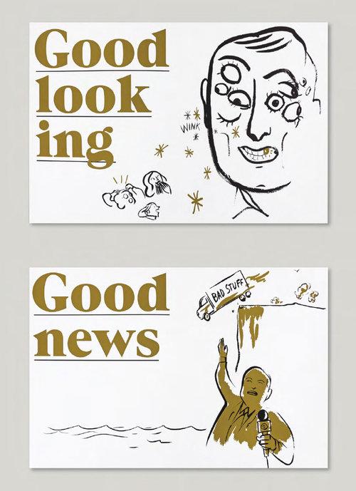 GDUA 2018 SILVER - ARTIST: Graham RoumieuTITLE: A Fat Lot of Good [Series, 3 of 3]CLIENT: Goodall Integrated Design