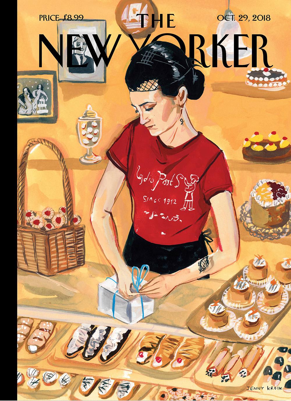 Arthur Ave. (The New Yorker) – Jenny Kroik