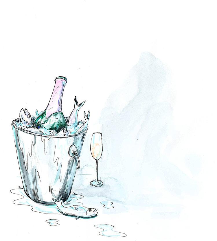Fish & Champagne – Graham Roumieu