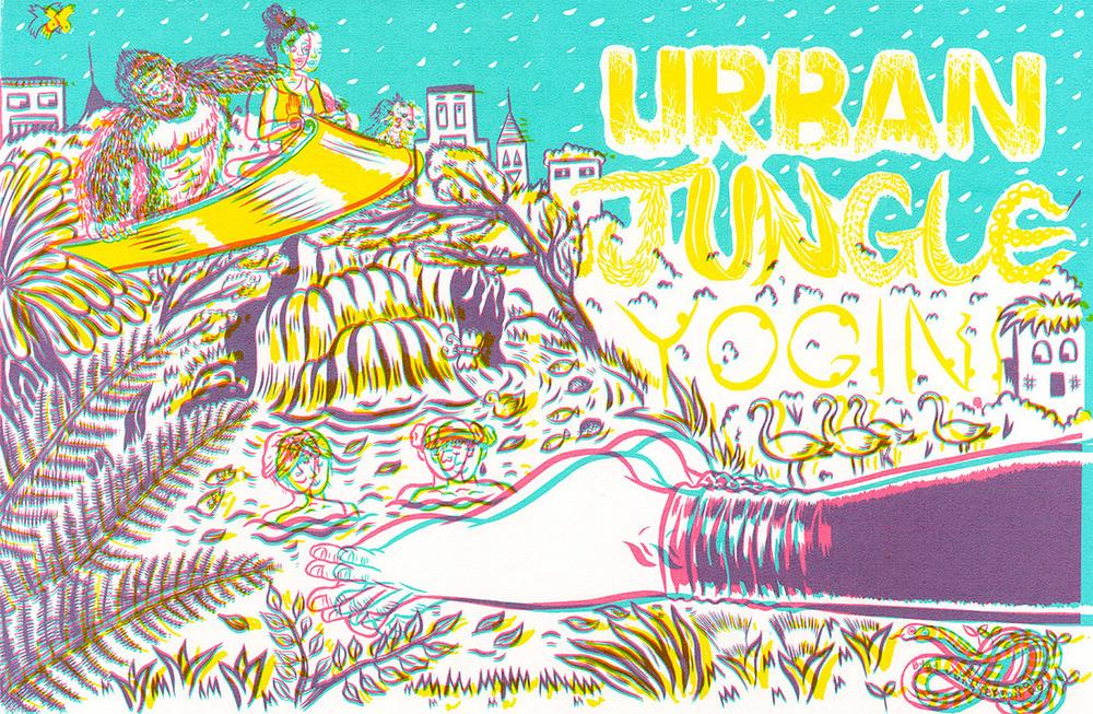 AI 35 2016 - ARTIST: Jungyeon RohTITLE: Urban Jungle [1 of 5]