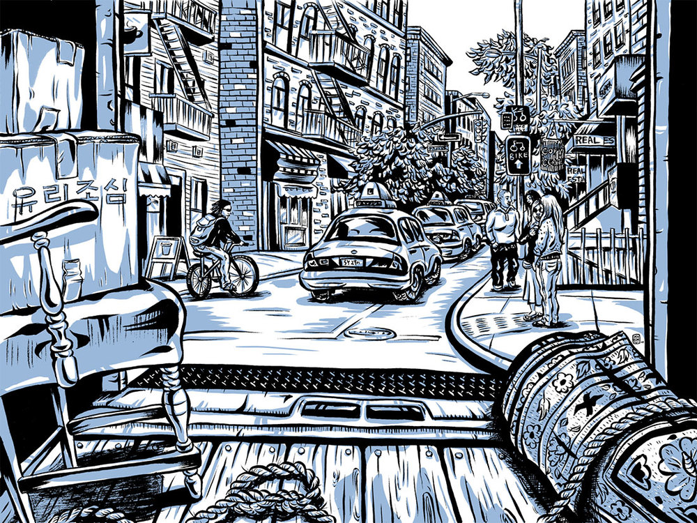 CA 52 2011, AI 30 2011 - ARTIST: Jungyeon RohTITLE: Going Korean [1 of 4]CLIENT: The New York Times