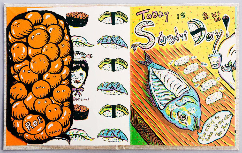 ADC 89 2010 Gold, AI 28 2009 - ARTIST: Jungyeon RohTITLE: Today is Sushi Day [3 of 6]