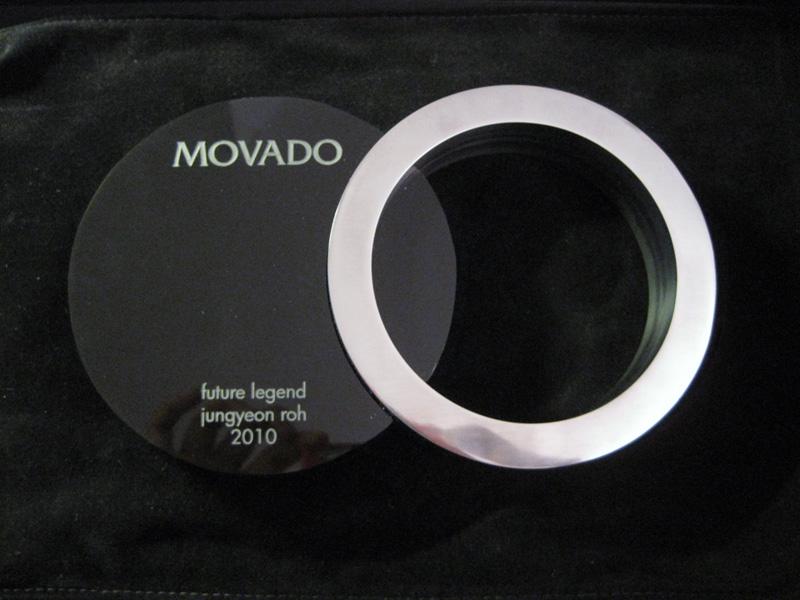 MOVADO 2010 - ARTIST: Jungyeon RohAWARD: Future Legends