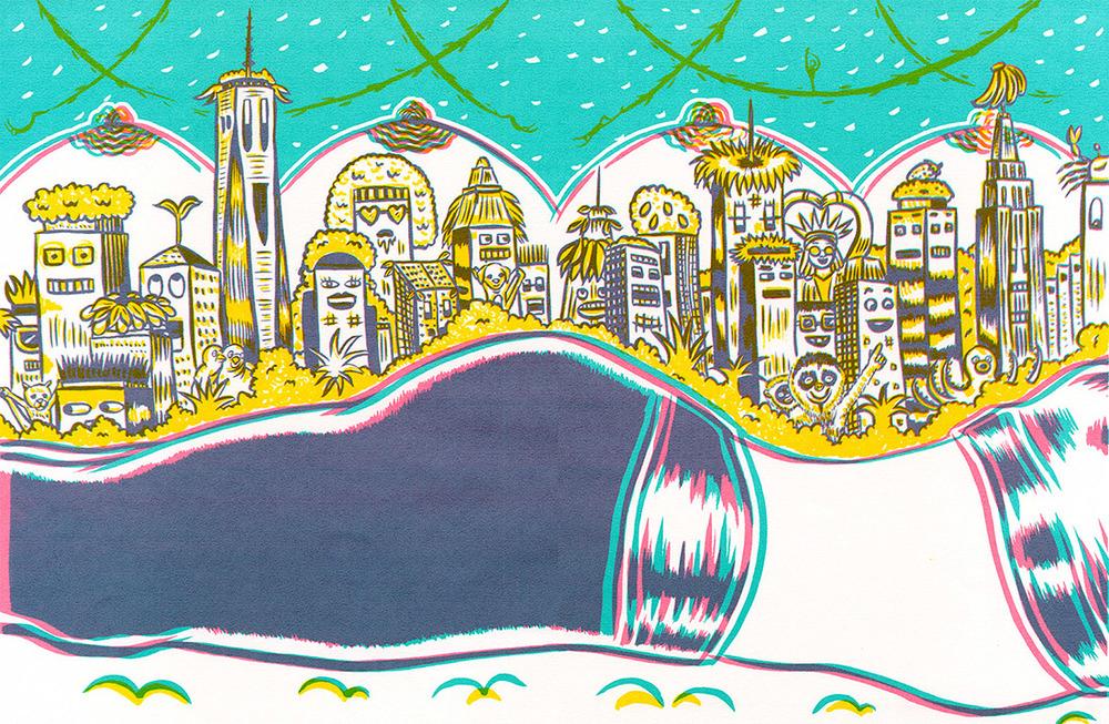 AI 35 2016 - ARTIST: Jungyeon RohTITLE: Urban Jungle [2 of 5]