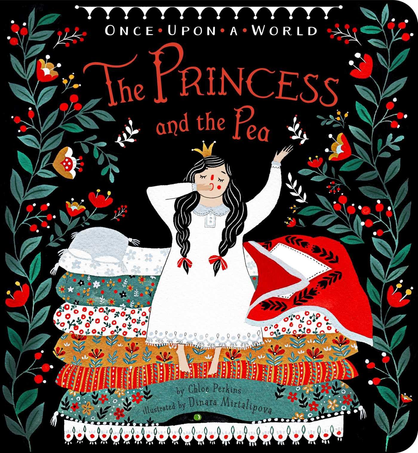 SOI Original Art Show 2017 - ARTIST: Dinara MirtalipovaTITLE: The Princess and the PeaCLIENT: Simon & Schuster