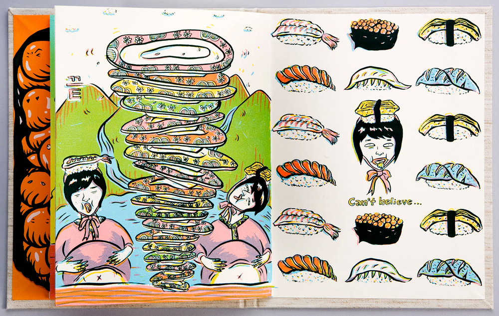 ADC 89 2010 Gold, AI 28 2009 - ARTIST: Jungyeon RohTITLE: Today is Sushi Day [5 of 6]