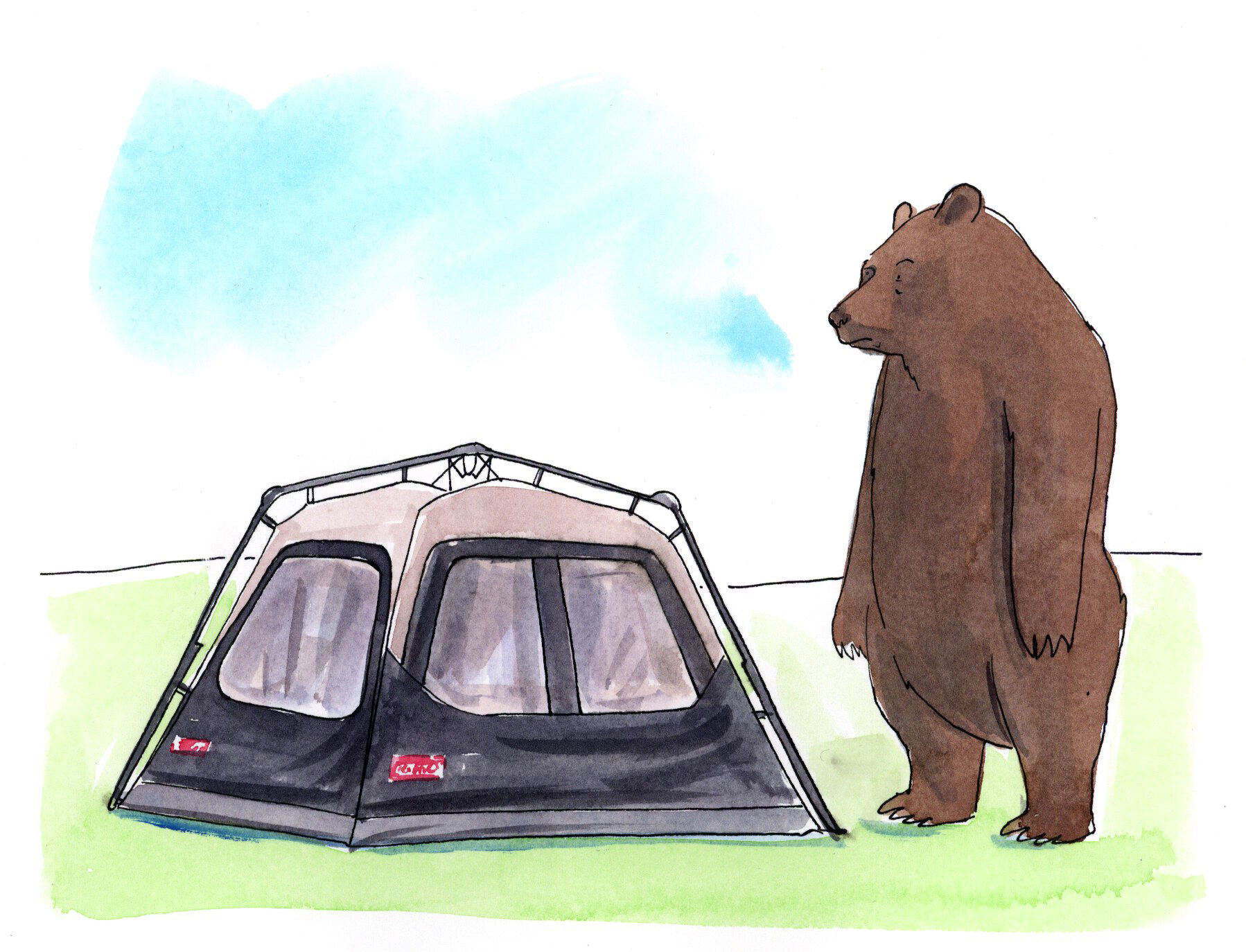 DCCA 14 2015 - ARTIST: Graham RoumieuTITLE: Camping Series [2 of 2]CLIENT: Coleman Canada