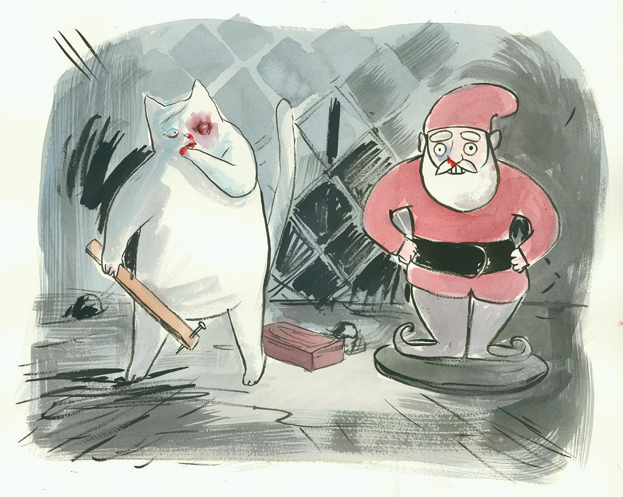 AI 29 2010 - ARTIST: Graham RoumieuTITLE: Gnome Santa