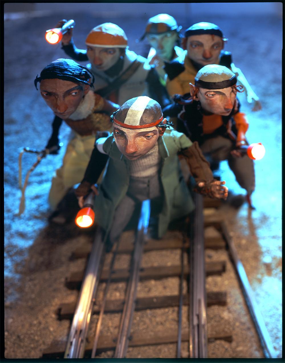 SOI 48 2005 - ARTIST: Red Nose StudioTITLE: Borribles Train TracksCLIENT: TOR Books