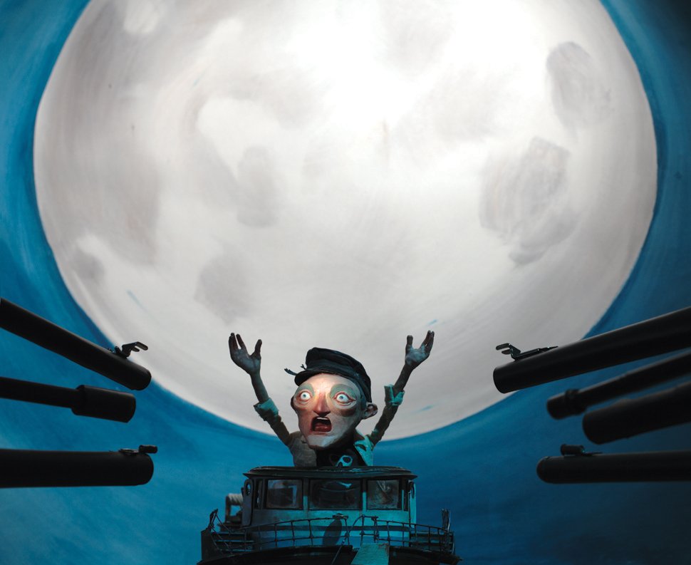 DENOP 2018, 3X3 Children's Book Show, distinguished merit 2010, SOI 52 2009 - ARTIST: Red Nose StudioTITLE: The Garbage Barge [2 of 4]CLIENT: Schwartz & Wade