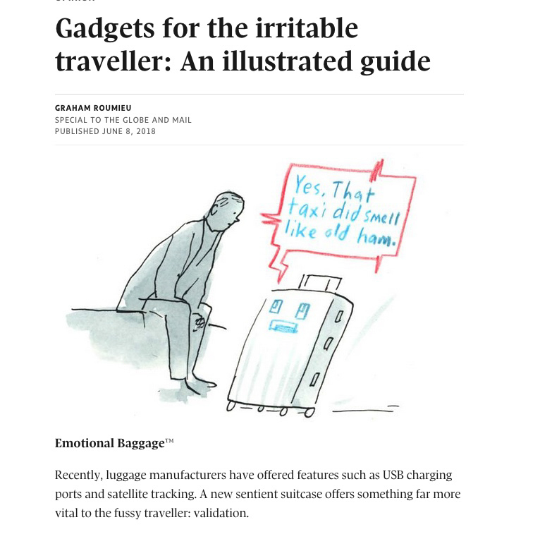 Gadgets to the irritable traveller - The Atlantic