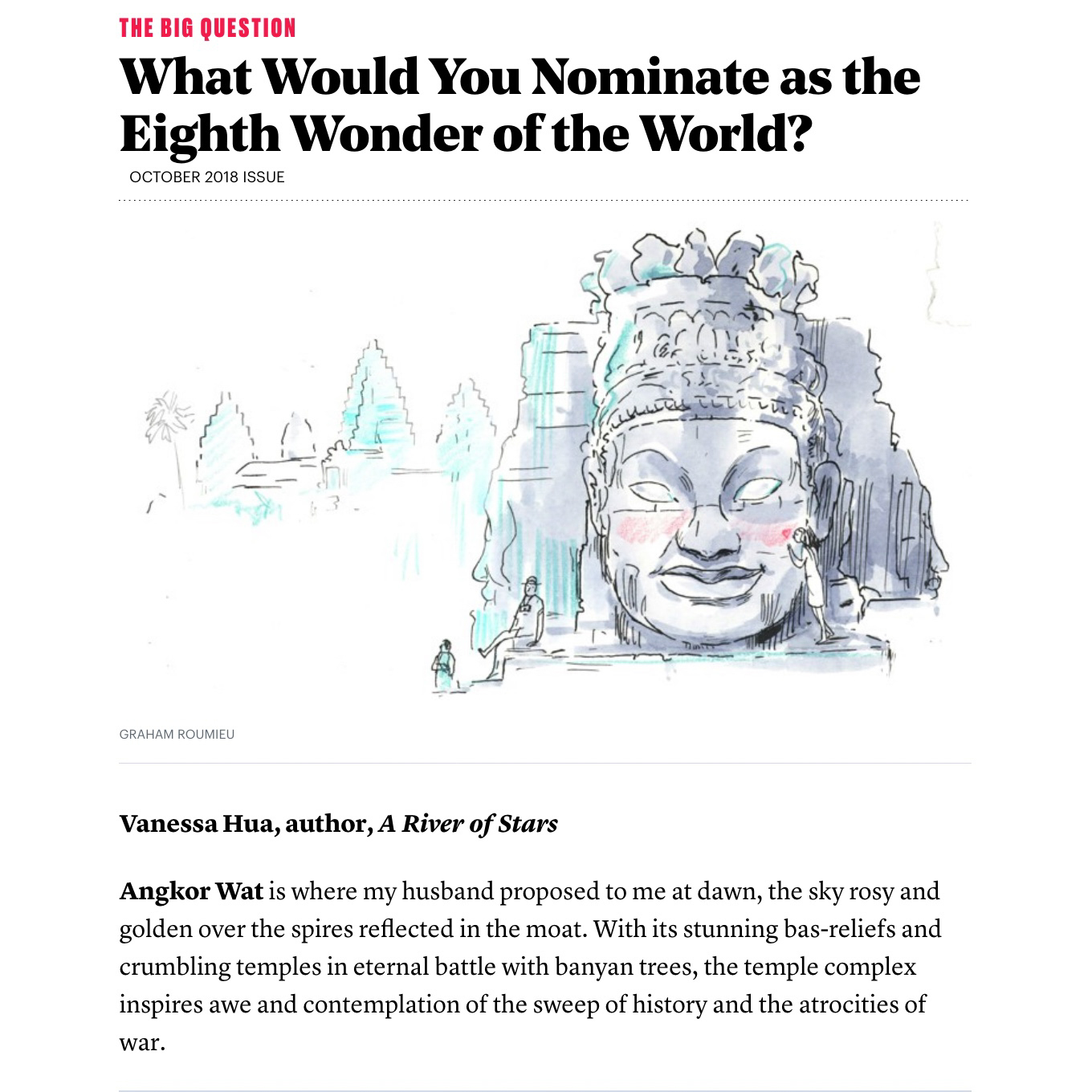 What Would You Nominate as the Eighth Wonder of the World - The Atlantic