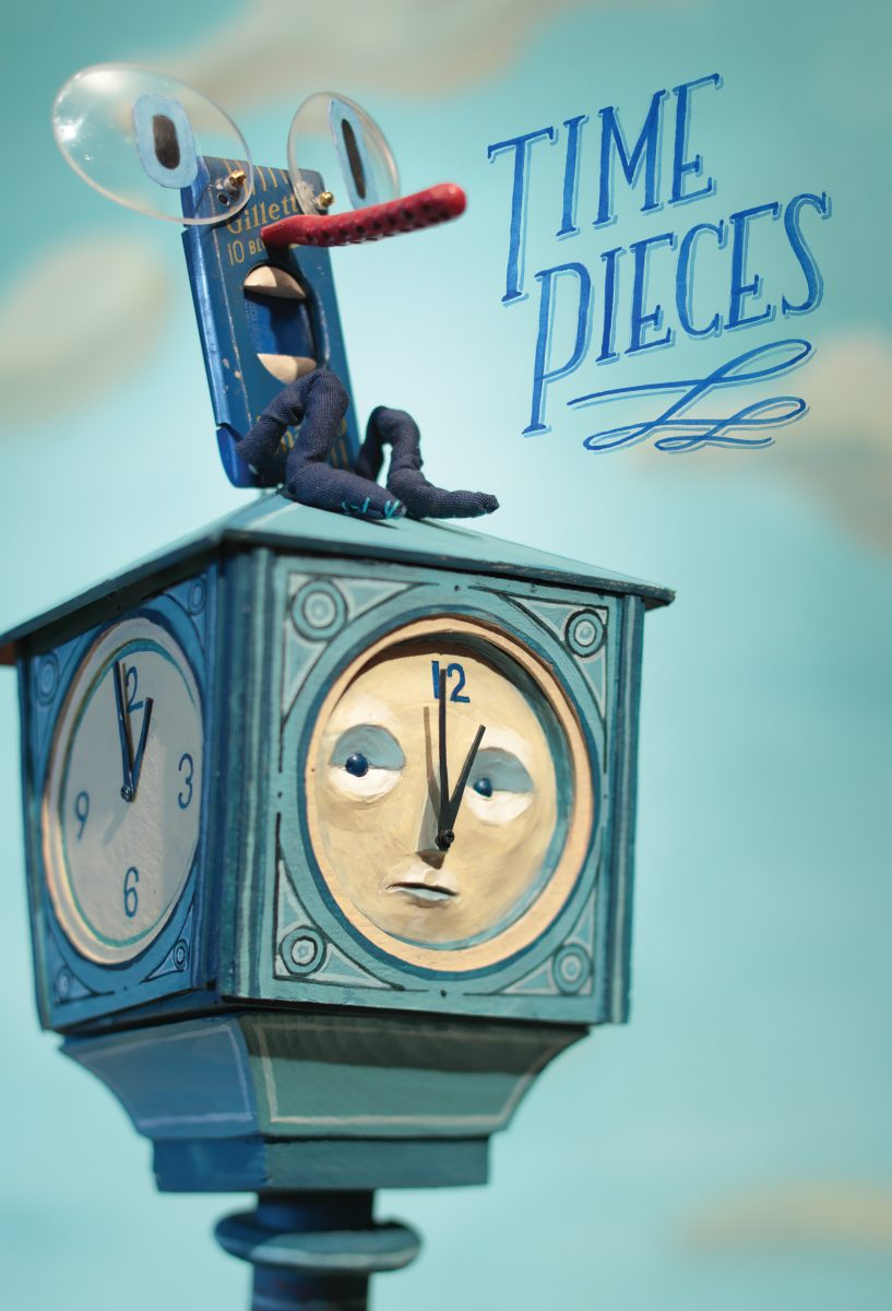 ADC 2019, WIA Shortlist 2019, SOI 61 2018 - ARTIST: Red Nose StudioTITLE: Time Pieces [1 of 8]