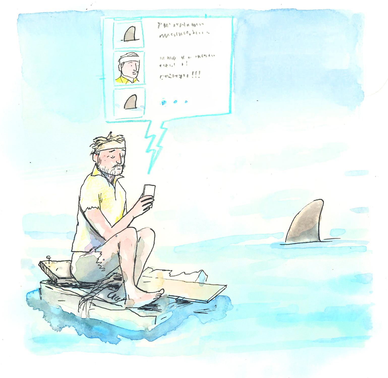Text Shark - The Walrus