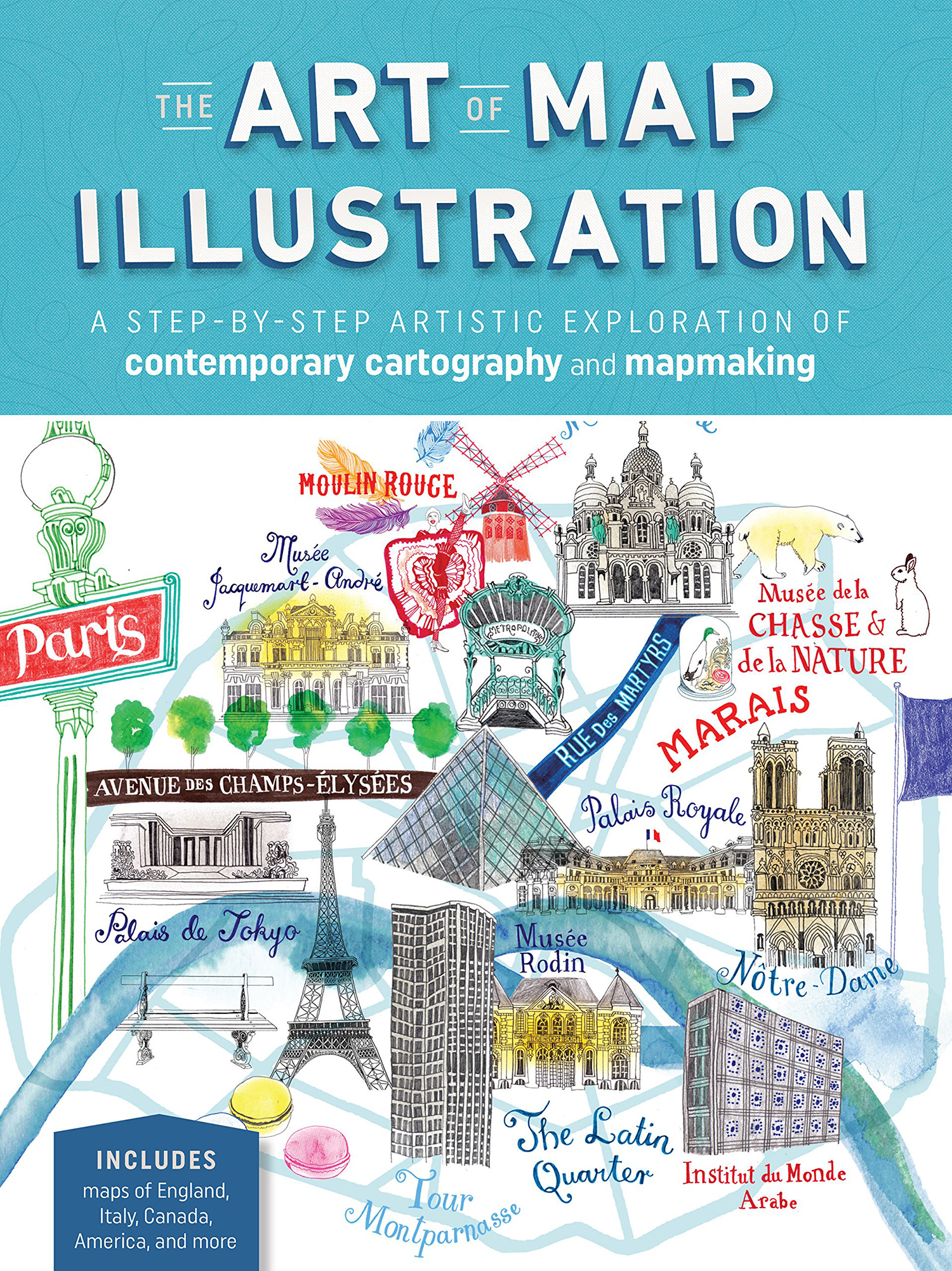 The Art of Map Illustration - Walter Foster Publishing