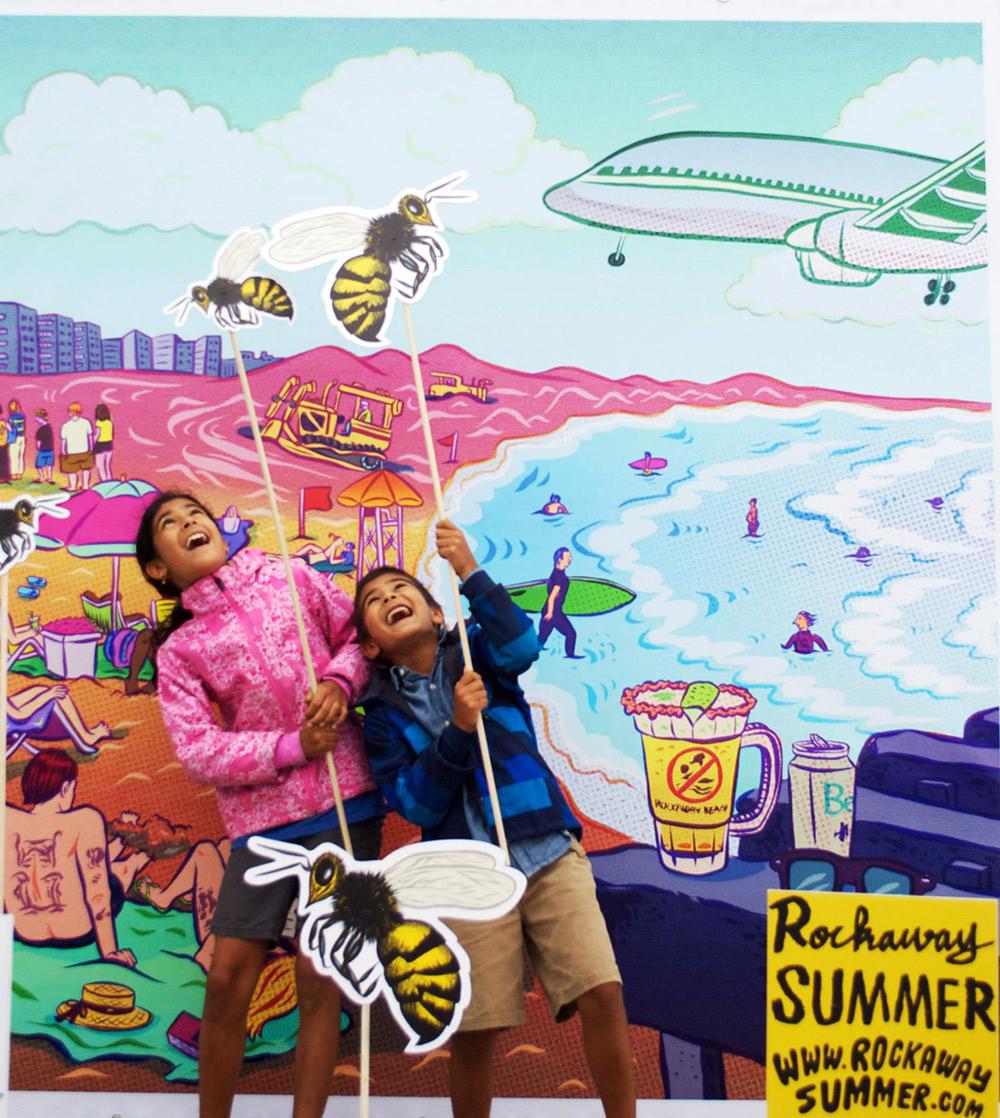Display - Rockaway Summer