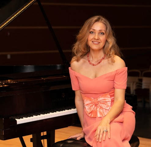 Anna Billias, Rockbridge Youth Chorale Accompanist