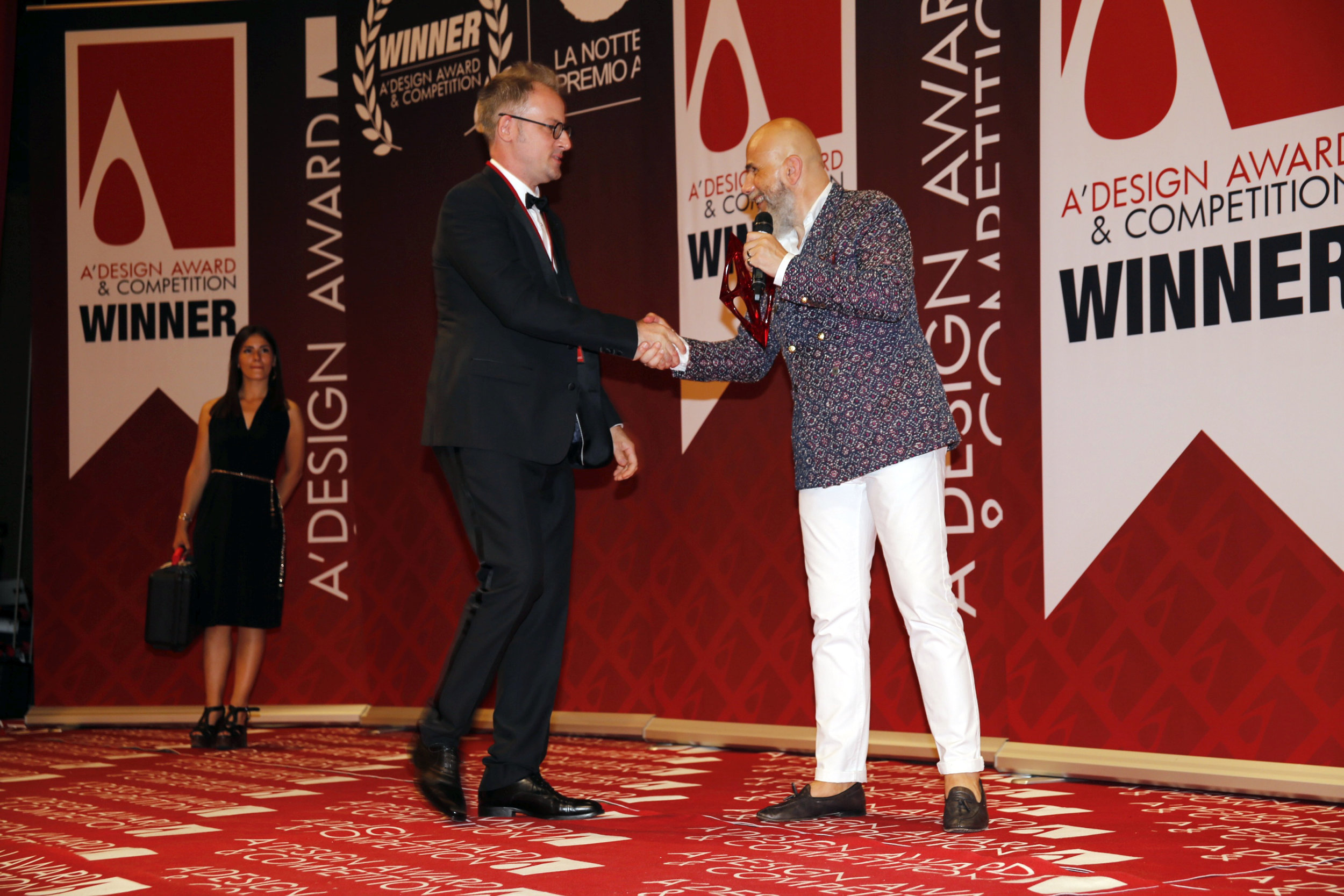 A'Design Award Gala June 29, 2018   Como, IT