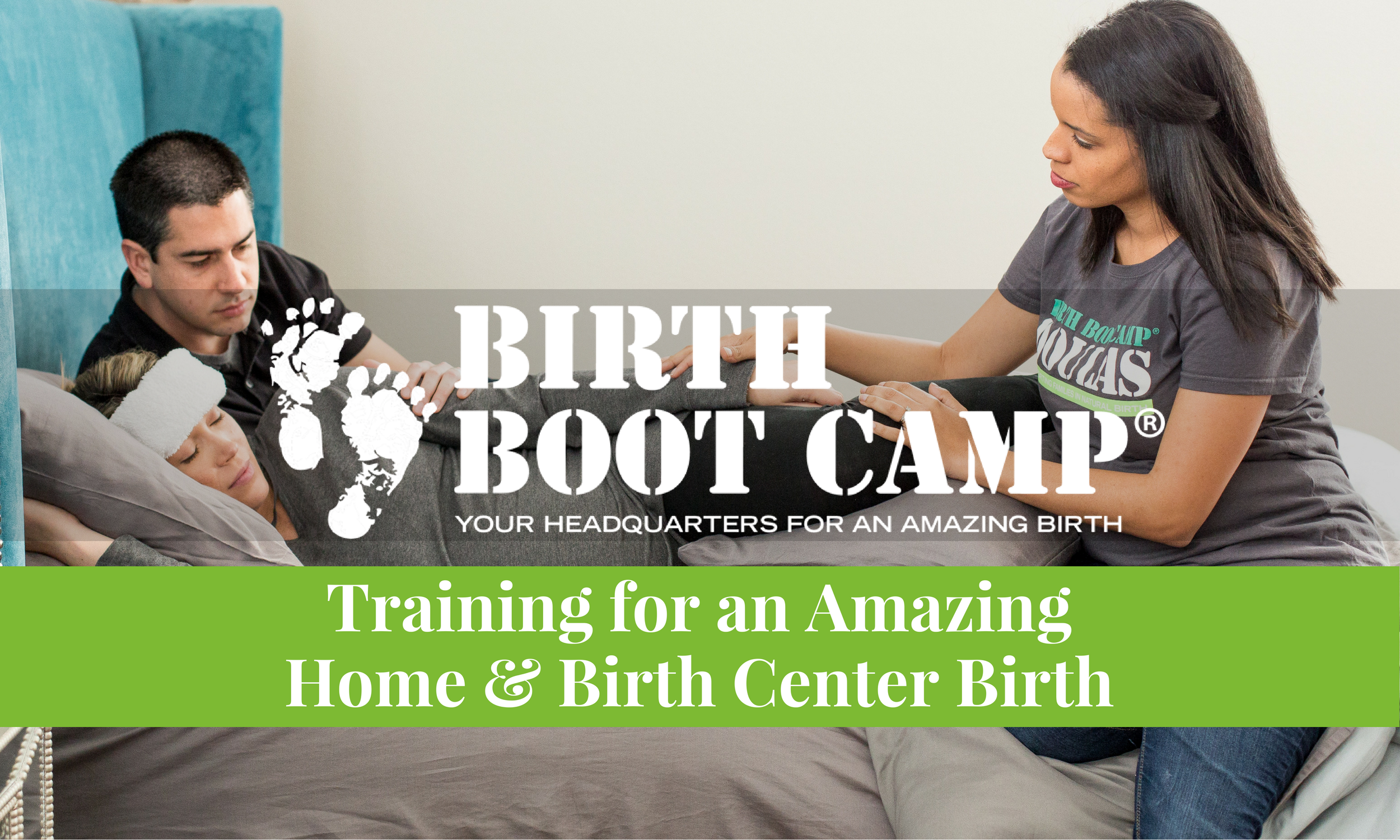 Birth Boot Camp Home and Birth Center Birth Class taught by Melanie Galloway.