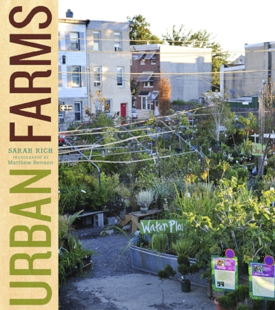 "Urban Farms     Urban Farms  provides in-depth profiles of 16 innovative farms located in major metropolitan areas across the country, each operated by passionate individuals and communities committed to growing their own fruits and vegetables and raising animals. (Abrams 2012), Contributing Author. [ Bo okstore]  The  New York Times  Sunday Book Review calls  Urban Farms  ""handsome, intelligent…"" [ Read  review]"