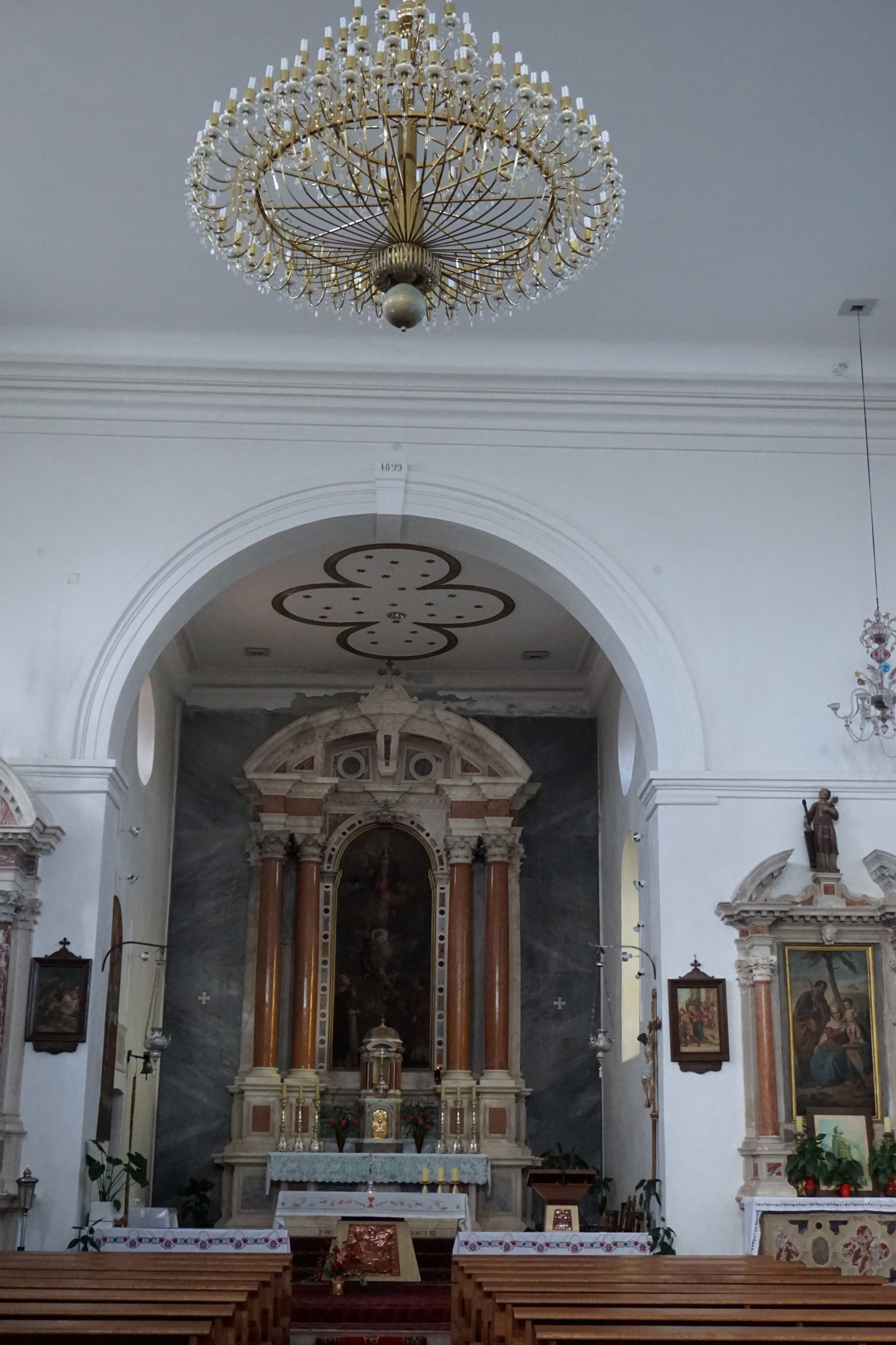 Photos from inside the church.