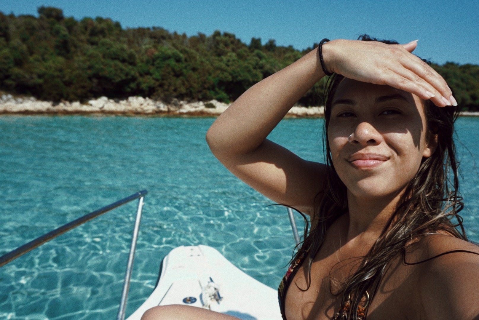 Swimming in the Adriatic