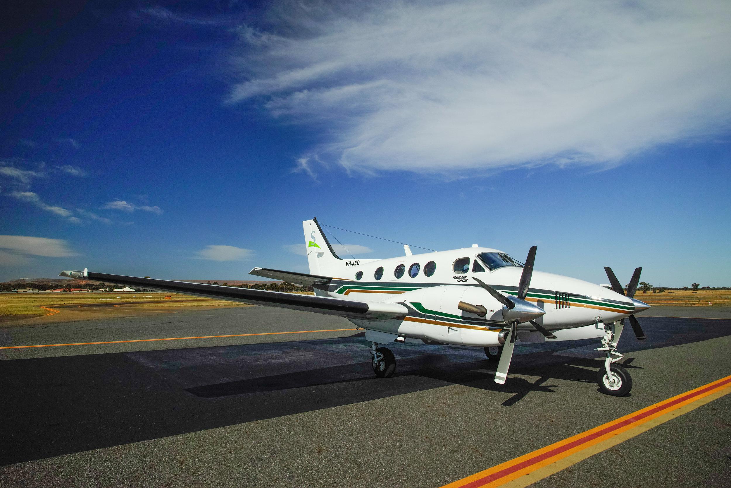 Beechcraft-C90-Kingair