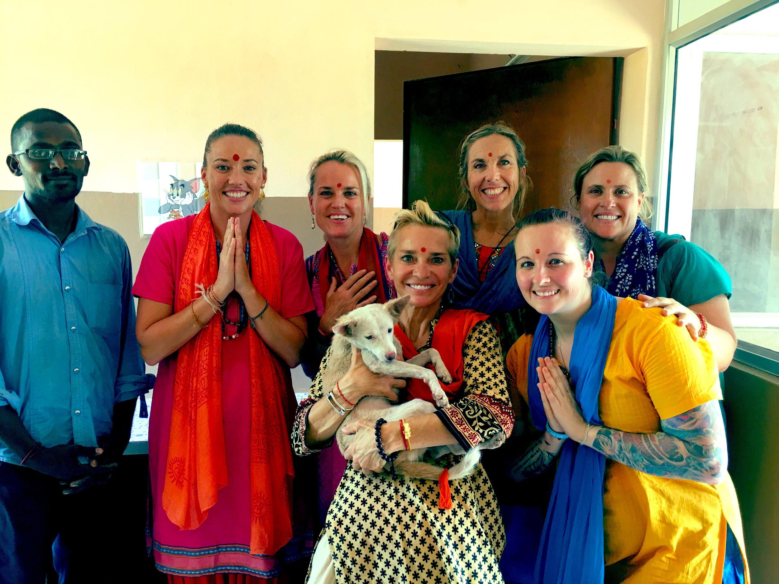 visiting the 'sri narayani treatment centre in tamalnadu