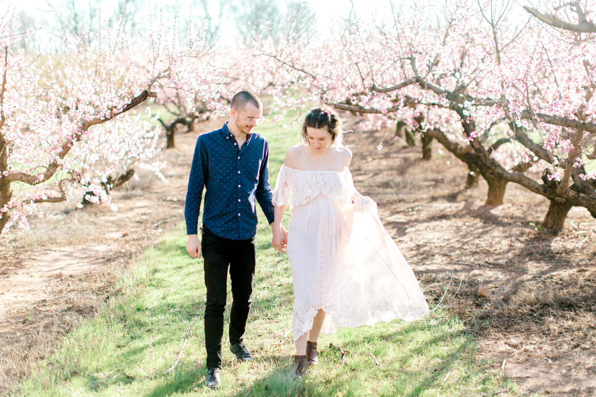 four corners photography peach blossom mini sessions peach blossom maternity session (1 of 25).jpg