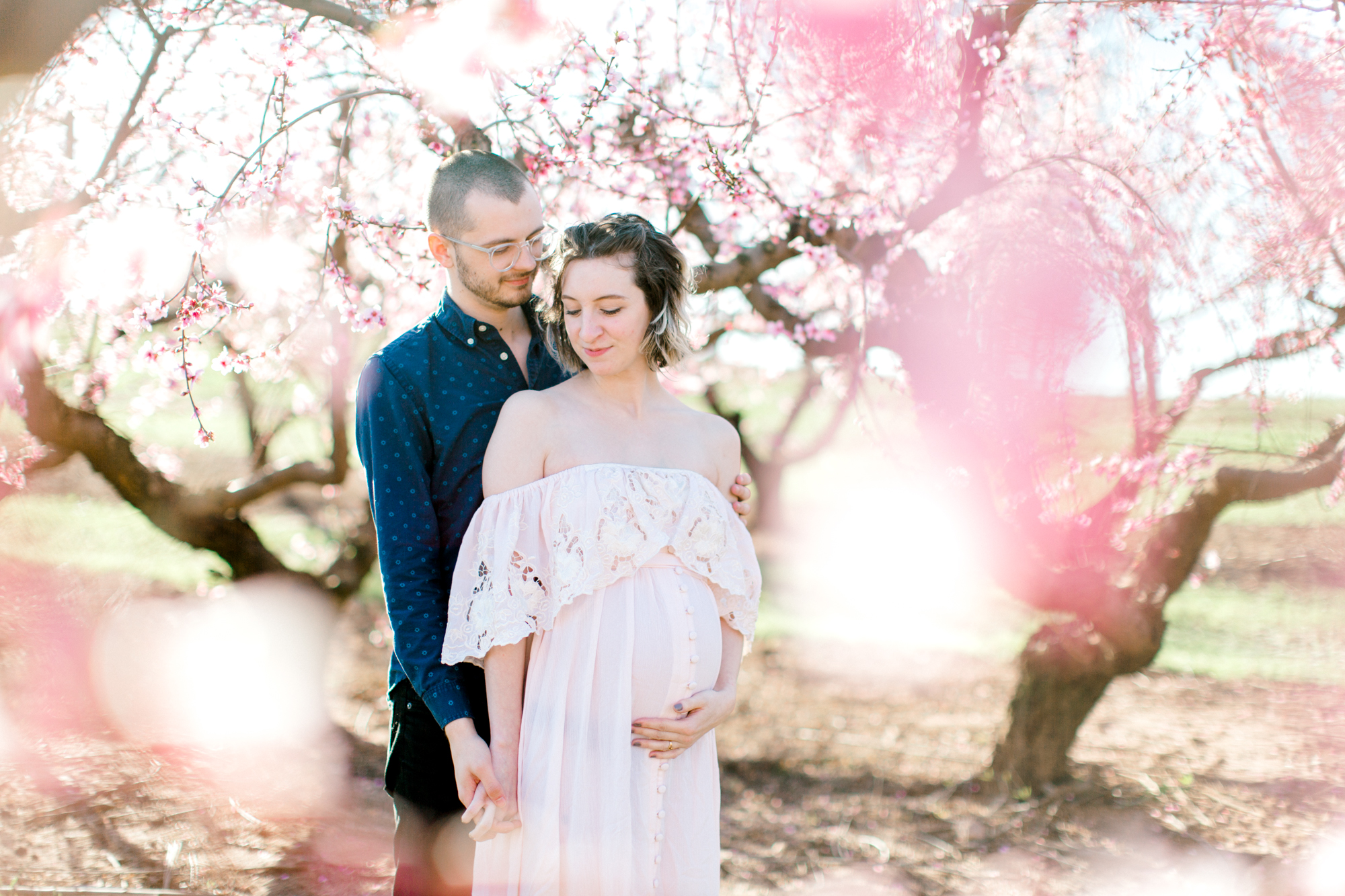 four corners photography peach blossom mini sessions peach blossom maternity session (3 of 25).jpg