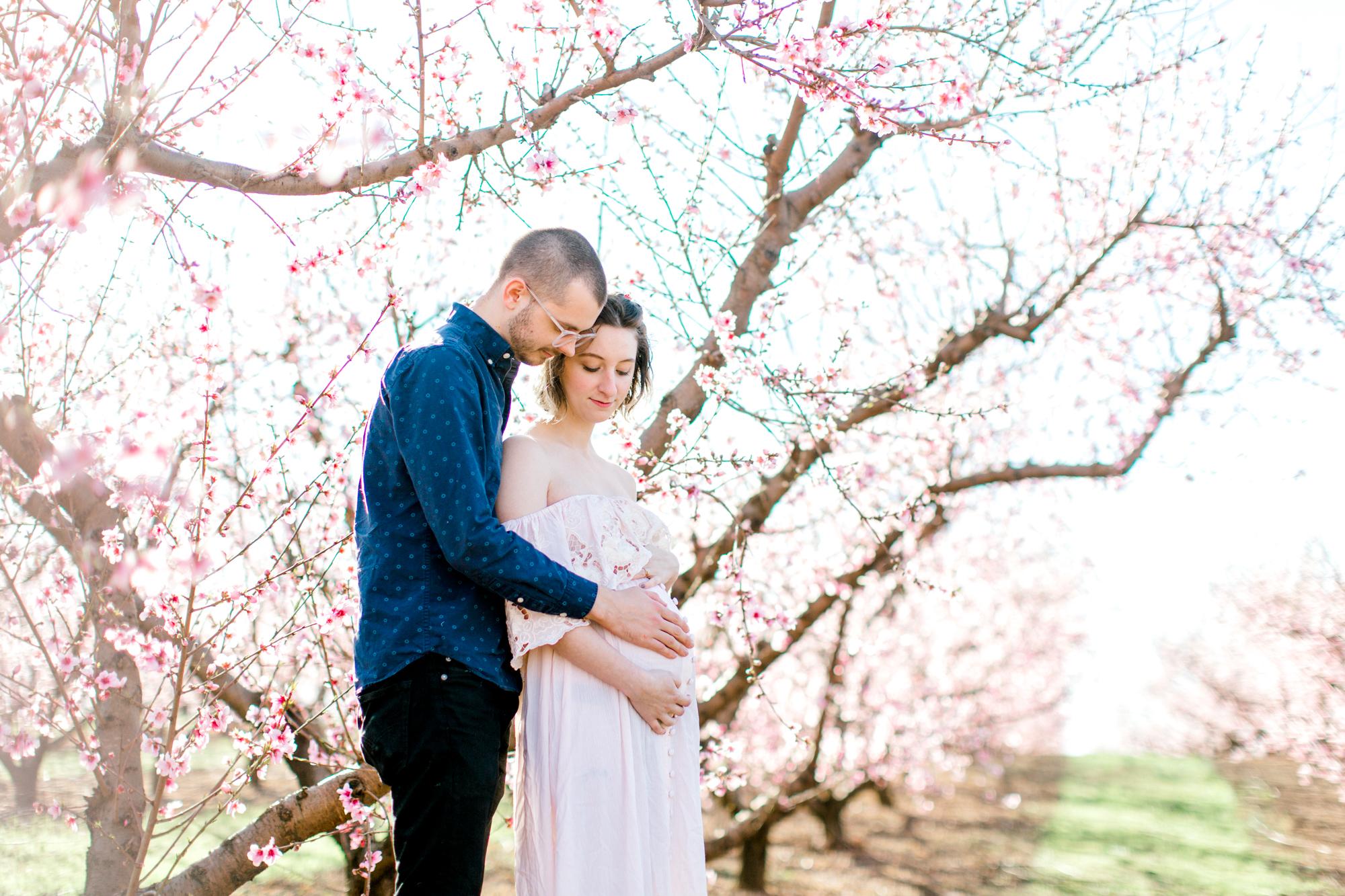 four corners photography peach blossom mini sessions peach blossom maternity session (7 of 25).jpg