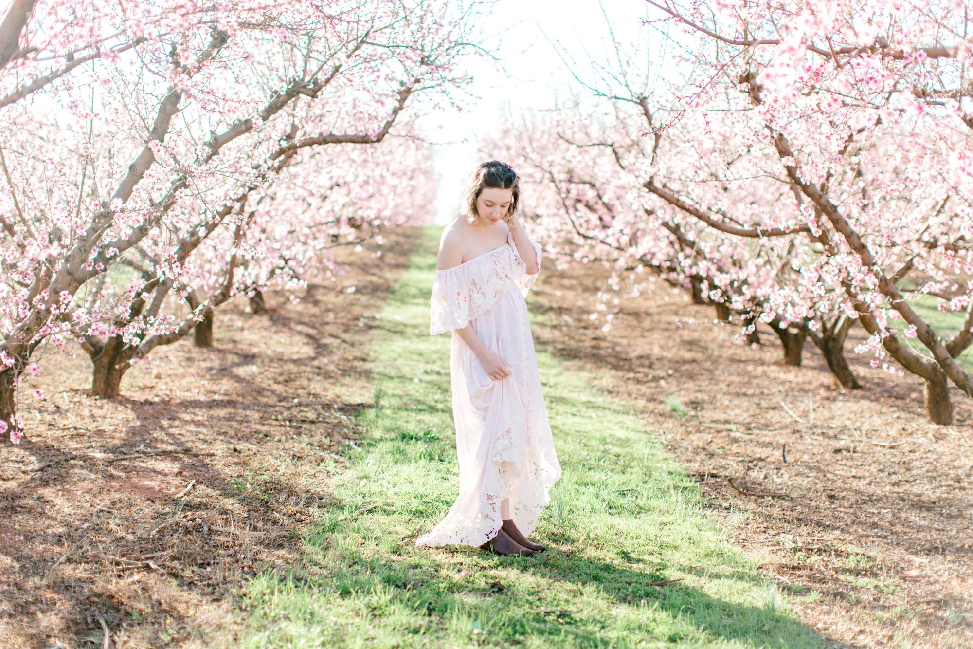 four corners photography peach blossom mini sessions peach blossom maternity session (12 of 25).jpg