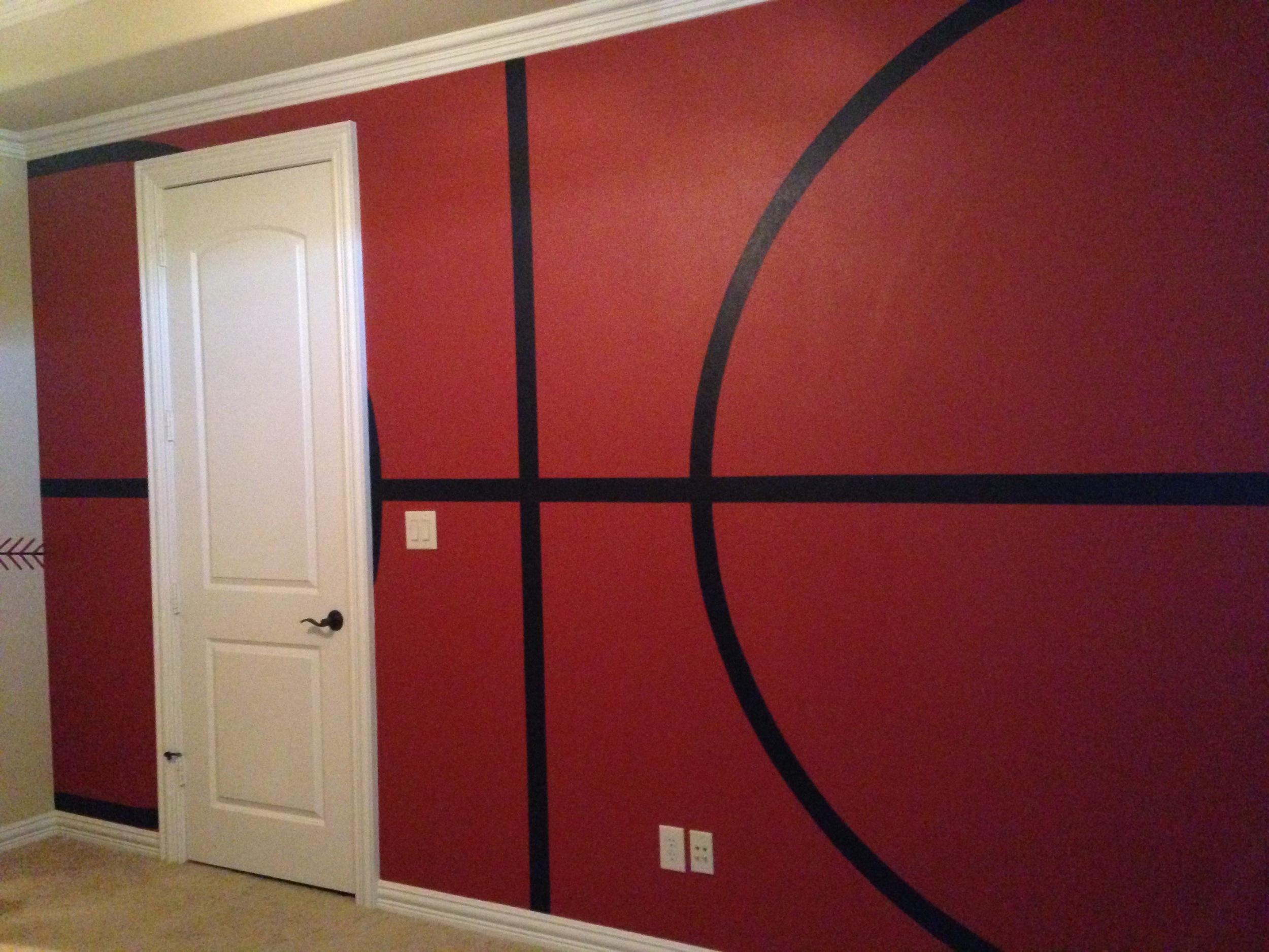 sports room - basketball