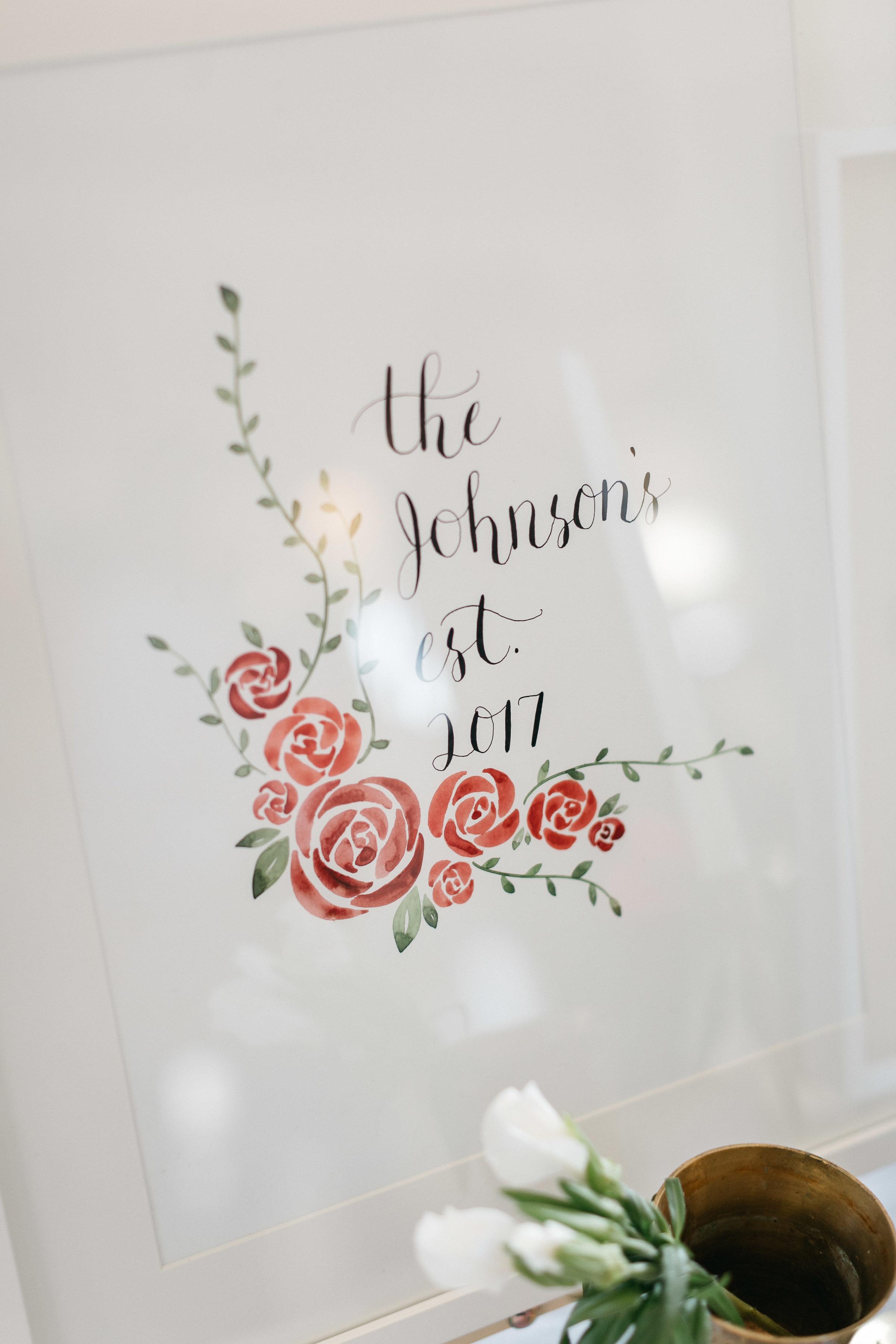 the johnson's print