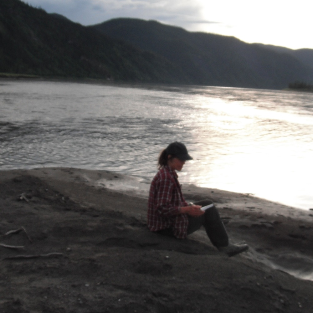 Sketching on the Yukon River